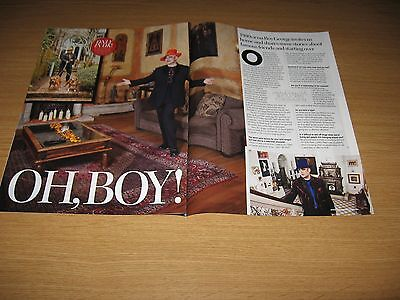 BOY GEORGE  - Small set of magazine and newspaper clippings
