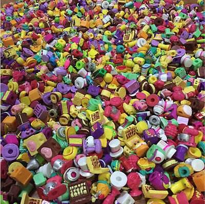 Lot of 30/50/100 Pcs Random Shopkins of Season  2 3 4 5 All different Loose Toy