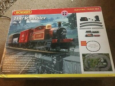 OO Hornby R1035 boxed The Rambler starter train set