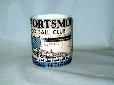 Portsmouth Football Programme Collectionneurs MUG #2