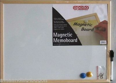 Magnetic Memoboard Whiteboard Homeware Dry Wipe Notice Children Board A3