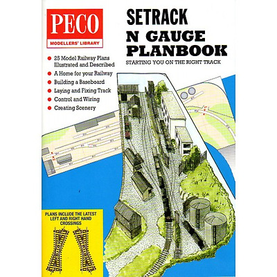 Peco IN-1 Setrack Planbook Track Plans N Gauge