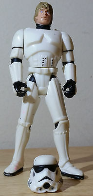 VINTAGE LUKE SKYWALKER IN STORMTROOPER DISGUISE 1996 3.75in. KENNER POTF2