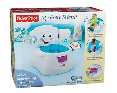Fisher Price My Potty Friend Potty Training With Songs & Sound Effects NEW