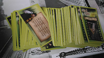 Lot de cartes Harry Potter Movie Trading Cards wizards of the coast