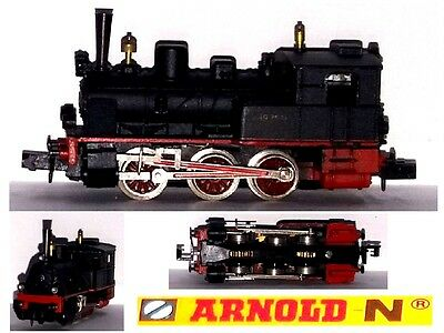 Arnold Vintage Locomotiva Vapore Steam-Locomotive 0-6-0 Br89-7566 Db Scala-N