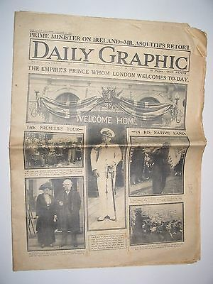 Old Original Daily Graphic Newspaper October 11th  1920