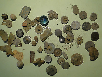 Job Lot of Metal Detecting finds, from Roman period onwards
