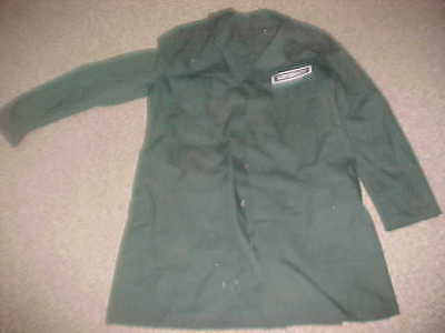 Vintage Green Ford Supervisor Shop Coat