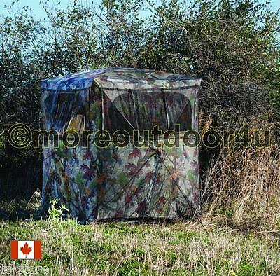 NEW WS175BT Barronett Wind Storm175 Hunting Blind with BloodTrail Camo 60x60