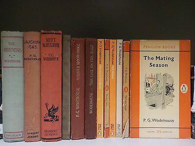 Vintage P.G.Wodehouse - 12 Books Collection! (ID:43027)