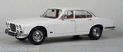 1971 JAGUAR XJ6 2.8 RHD in White 1/18 scale model by Paragon