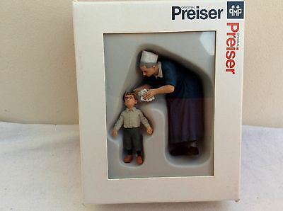PREISER G Gauge Figures  -  45507 Sister with Child     BOXED