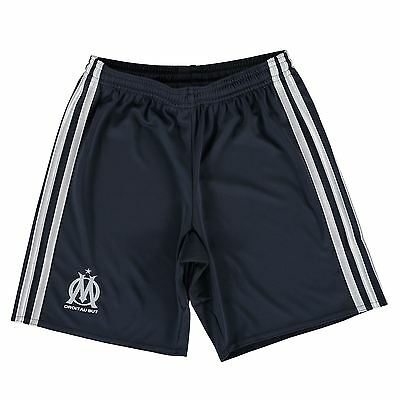 adidas Childrens Kids Football Soccer Olympique de Marseille Away Shorts 2016-17