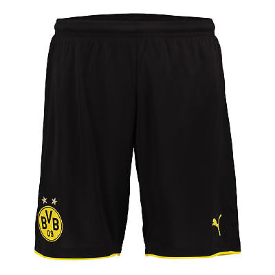 Puma Womens Ladies Football Soccer BVB Home Shorts Bottoms Season 2016-2017