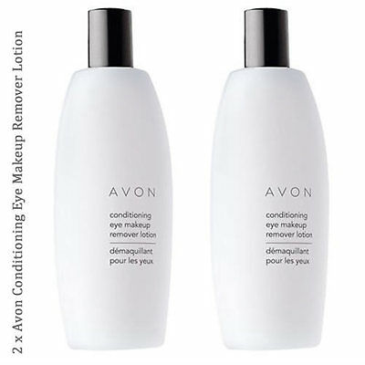 2 x Avon Conditioning Eye Makeup Remover Lotion // Mild & Gentle 150ml (RRP £8)