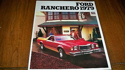 1979 Ford Ranchero   French Brochure