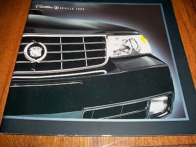1999 Cadillac Seville Sts Sls   French Canadian  Original Brochure