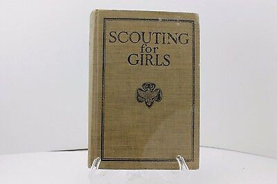 SCOUTING FOR GIRLS OFFICIAL HANDBOOK 4th EDITION 1923
