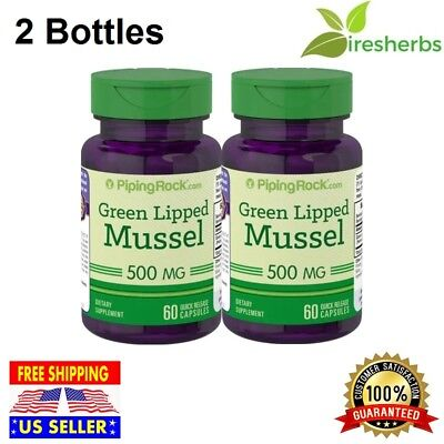 GREEN LIPPED MUSSEL Perna Canaliculus 500mg JOINT HEALTH SUPPLEMENT 120 CAPSULES