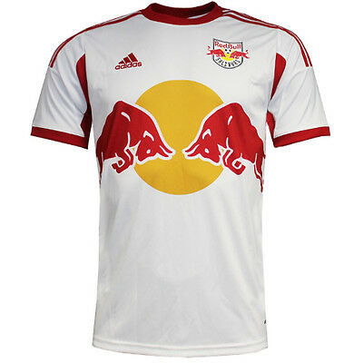 Adidas Salzburg Home Jersey Red Bull Junior Boys Football Shirt Z23174 U12