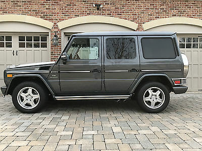 2005 Mercedes-Benz G-Class Base Sport Utility 4-Door 2005 Mercedes-Benz G55 AMG Base Sport Utility 4-Door 5.5L Pristine Example!!