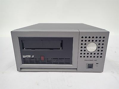 Dell PowerVault 110T LTO-3 External SCSI Tape Drive