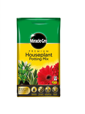 New Miracle Miracle-Gro Potting Mix 8L Potting Compost Gardening