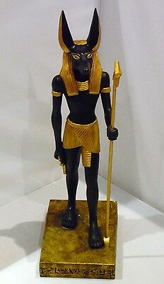 SHUDEHILL ~ EGYPTIAN GOD ANUBIS ~ LARGE FIGURE 39cm ~ BOXED