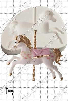 Stampo in Silicone Giostra Cavallo Cibo Use FPC Sugarcraft