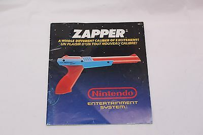 Nintendo NES - Zapper - MANUAL ONLY