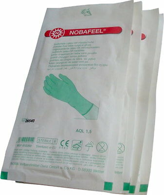 Sterile Surgical Gloves Latex Disposable Powder Free NOBA