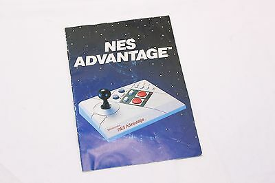 Nintendo NES - Advantage - MANUAL ONLY