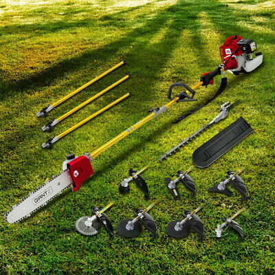 75CC 9 in 1 Multi Use Chainsaw Hedge Trimmer Whipper Brush Cutter