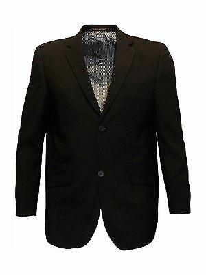Mens Formal Classic Fit Single Breates Suit Jkt in Black(Felix),Chest 48-64, S/R