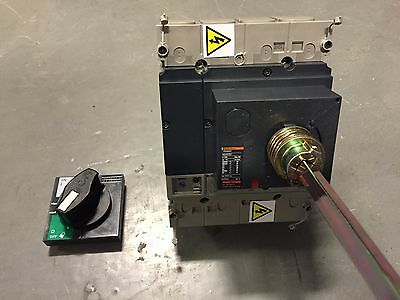 Schneider / Merlin Gerin 160A / Amp Plug-In NS250-SX MCCB Rotary Circuit Breaker