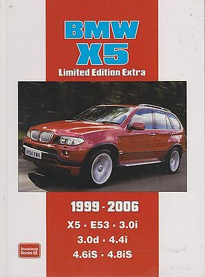 BMW X5 ( E53 SERIES ) 3.0i 3.0d 4.4i 4.6iS & 4.8iS ( 1999-2006 ) ROADTESTS BOOK