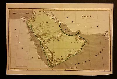 1800 (c.) Map of Arabia