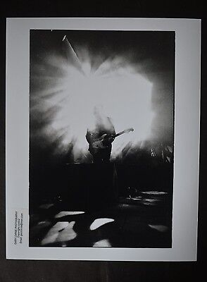 "Original Press Photo  10""x8""  test print   Echo and the Bunnymen - 1998 Sgt Fuzz"