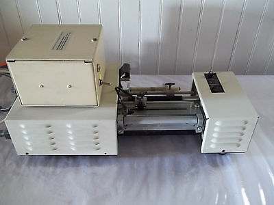 C Soabar Model 17860-04-2 Industrial Label Cutter W/Extra Power Supply EUC