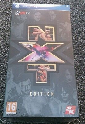 PS4 WWE 2K17 NXT Limited Edition Pack  ****Sealed UK