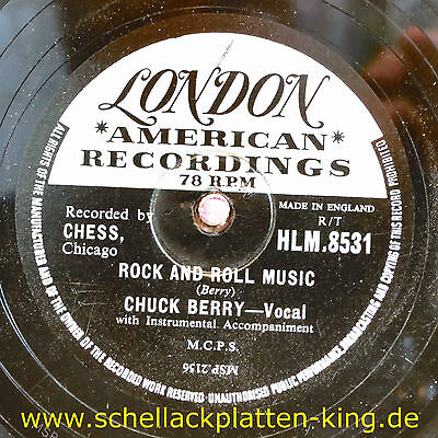 Chuck Berry / Rock And Roll Music & Blue Feeling  (20-0114)