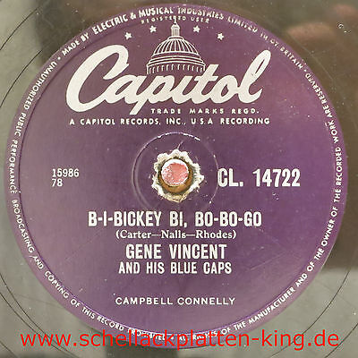 Gene Vincent / B-I-Bickey Bi, Bo-Bo-Go & Five Days, Five Days (19-0514)