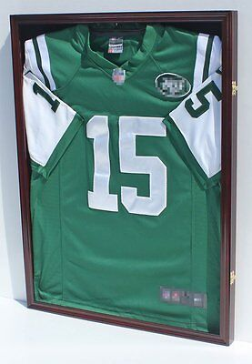ULTRA CLEAR, UV Protect Football Baseball Jersey Display Case Shadow Box Frame