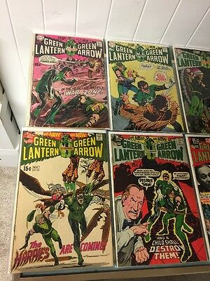Green Lantern 77 78 79 80 81 82 83 84 88 90 All 2.0-4.0 Good - Very Good Or +