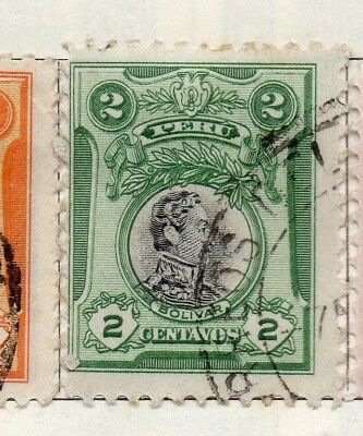 Peru 1918 Early Issue Fine Used 2c. 128670