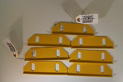 Lot of 7 Wear Plates for New Holland 450 451 455 456 Sickle Bar Mowers. 26616