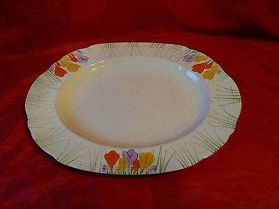 "vintage Alfred Meakin Royal Marigold  14 x 11 1/2"" Meat Plate meat platter"