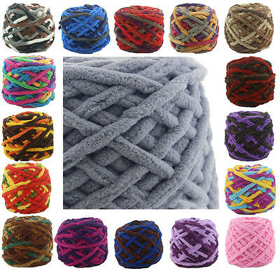 Skein 100g Super Soft Smooth Chunky Yarn Crochet Sweater hand Knitting Wool Baby