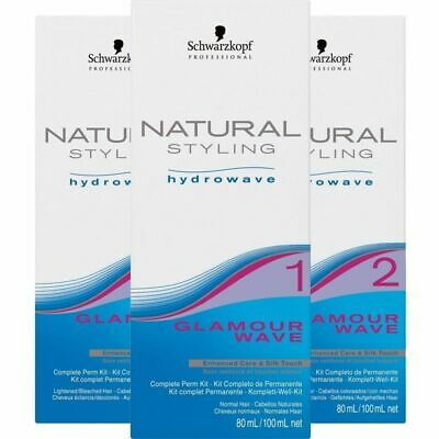 Schwarzkopf Natural Styling Perm Lotion 3 Hair Types-0-1-2  SMAEDAY DISPATCH